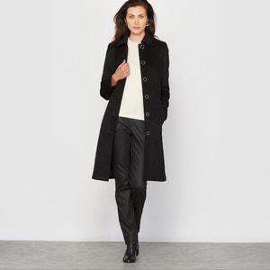 Płaszcz z sukna wełnianego ANNE WEYBURN