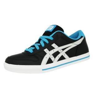 Asics AARON GS Chaussures Mode Sneakers Enfant Noir Bleu Blanc ASICS