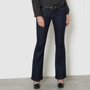 Jeans flare stretch, cintura normal, comprimento 34 La Redoute Collections
