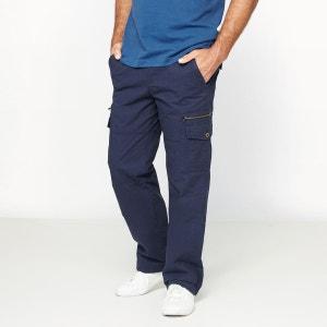 Pantalon sportwear  cargo pur coton CASTALUNA FOR MEN