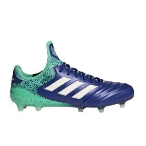 Chaussures football Chaussure de Football adidas Copa 18.1 FG Bleu/Vert adidas  Performance