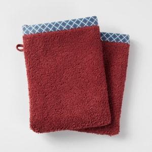 Confezione da 2 guanti da bagno, EVORA La Redoute Interieurs