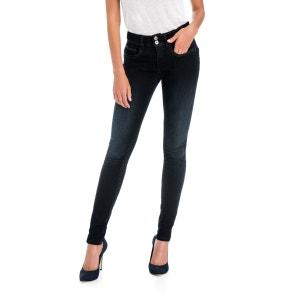Jeans foncés Secret Skinny avec applications SALSA