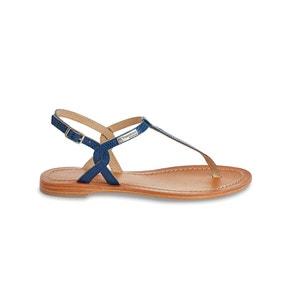 Sophisticated Billy Flat Leather Sandals LES TROPEZIENNES PAR M.BELARBI