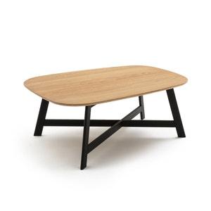 Mesa baja con superficie de fresno, LORA