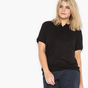 Camiseta con cuello polo, manga corta CASTALUNA