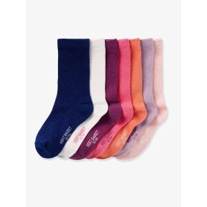 Lot de 7 paires de chaussettes fille VERTBAUDET