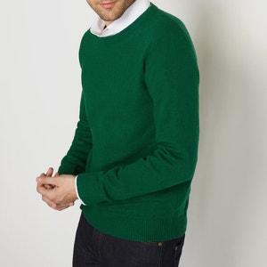100% Lambswool Crew Neck Jumper/Sweater R essentiel