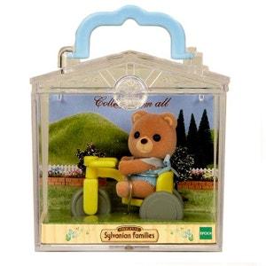 Sylvanian Family 3340 : Valisette figurine avec accessoire : Ourson SYLVANIAN FAMILIES