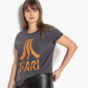 T-shirt met ronde hals en korte mouwen ATARI