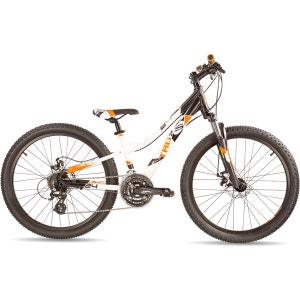 troX pro 24 24-S - Vélo enfant - blanc/noir S'COOL
