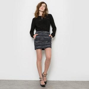 Jacquard Mini Skirt SEE U SOON