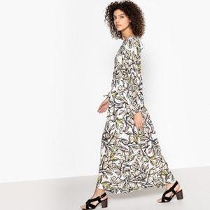 Vestido comprido e estampado, CAROLINE SUNCOO