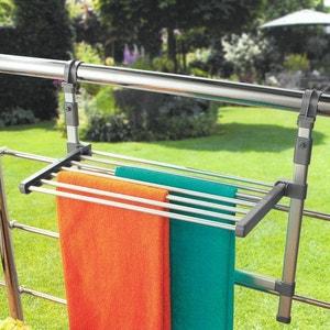 Séchoir à linge pour balcon ou paroi de douche. La Redoute Interieurs