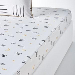 Drap-housse imprimé, Assana La Redoute Interieurs