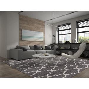 Tapis moderne gris extérieur et intérieur effet sisal Bobo ALLOTAPIS
