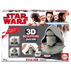 Puzzle 160 pièces : Sculpture 3D Star Wars : Kylo Ren EDUCA