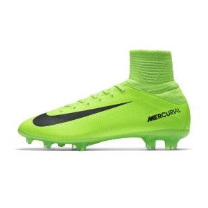 Chaussures football Nike Mercurial Superfly V FG Vert Junior NIKE