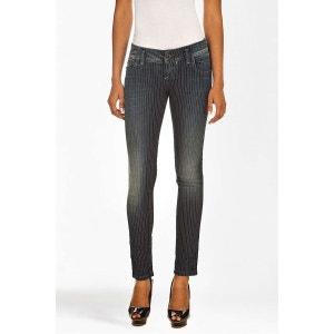 Jeans Freesoul Silver Selena  Slim Bleu Femme FREE SOUL