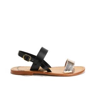 Sandálias rasas, BURSA MINNETONKA