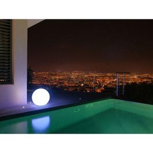 Boule lumineuse blanche diamètre 50 cm. LUMISKY
