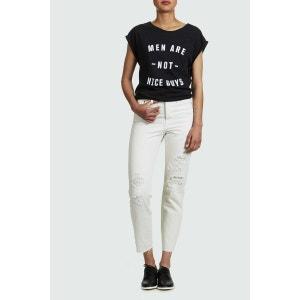 Jeans Levi's Wedgie Icon High Slim Vintage Chalk Blanc Femme LEVI'S