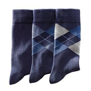 Set van 3 paar sokken La Redoute Collections