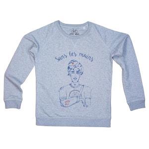 Sweat-shirt Femme Sans les mains P TIT VELO