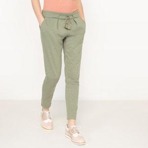 Pantaloni in tessuto felpato, vita elasticizzata LE TEMPS DES CERISES