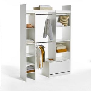 Dressing modulable 2 colonnes et 2 penderies Yann LES PETITS PRIX
