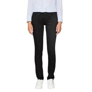 Jeans slim, vita bassa ESPRIT