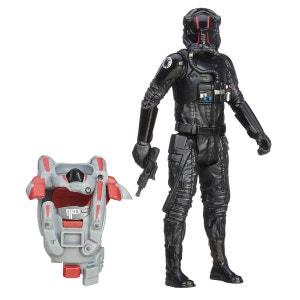 Figurine Star Wars avec arme et combinaison : Pilote d'élite de TIE Fighter du Premier Ordre HASBRO