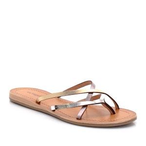 Bip Leather Toe-Post Sandals LES TROPEZIENNES PAR M.BELARBI
