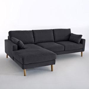 Canapé d'angle fixe Stockholm, coton confort Excellence La Redoute Interieurs