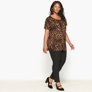 T-shirt fantasia leopardata CASTALUNA