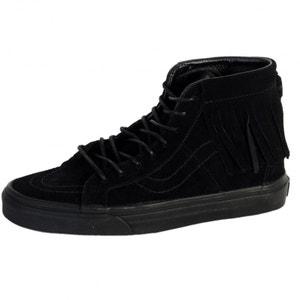Chaussures Vans SK8-HI Moc Suede Black/Black VANS