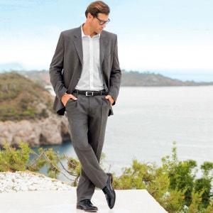 Pantalon de costume à pinces stretch long. 2 CASTALUNA FOR MEN