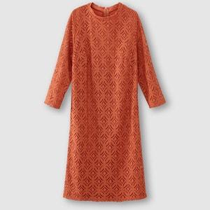 Robe en dentelle manches 3/4 La Redoute Collections