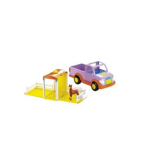 Jeep Bilingue Dora Et Son Poney - Mattel MATTEL