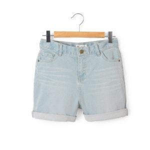 Short en jean taille haute 10-16 ans R essentiel