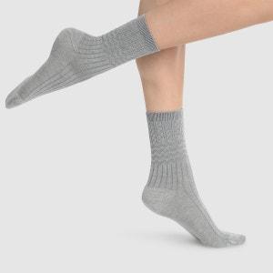 Calcetines medios de lana Douce Fantaisie