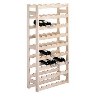 Grande étagère à bouteilles en  massif 54 bouteilles zeller ZELLER PRESENT