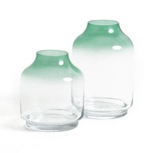 Vase en verre et verre teinté H26 cm, EPUR La Redoute Interieurs