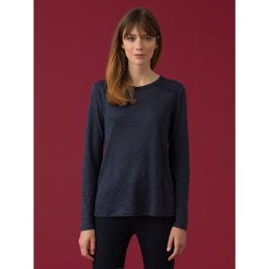 T-shirt loose femme en jersey de lin, IDYWYLD SOMEWHERE