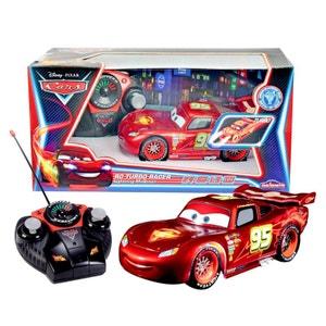 Voiture radiocommandée Cars : Flash McQueen Neon MAJORETTE