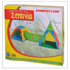 Knorrtoys 55200 Set de tentes et tunnel - Zenovia KNORRTOYS