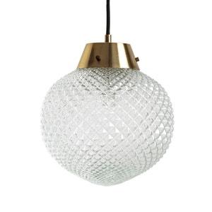 Lámpara de techo de vidrio y latón MAISON PÈRE X LA REDOUTE
