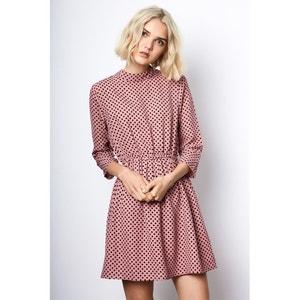 High Neck Polka Dot Dress COMPANIA FANTASTICA
