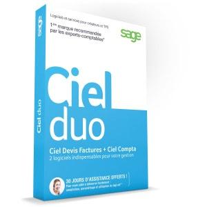 Logiciel PC CIEL Duo (Compta + Devis Facture) CIEL