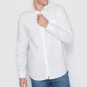 Recht hemd, 100% linnen La Redoute Collections